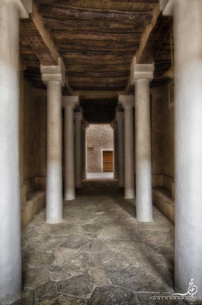 Hallway by M.Khan  م.خان