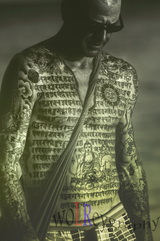the guy with Thai tattoo by Wolrey
