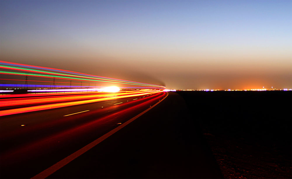 Trucks Lights... by SalehFuad