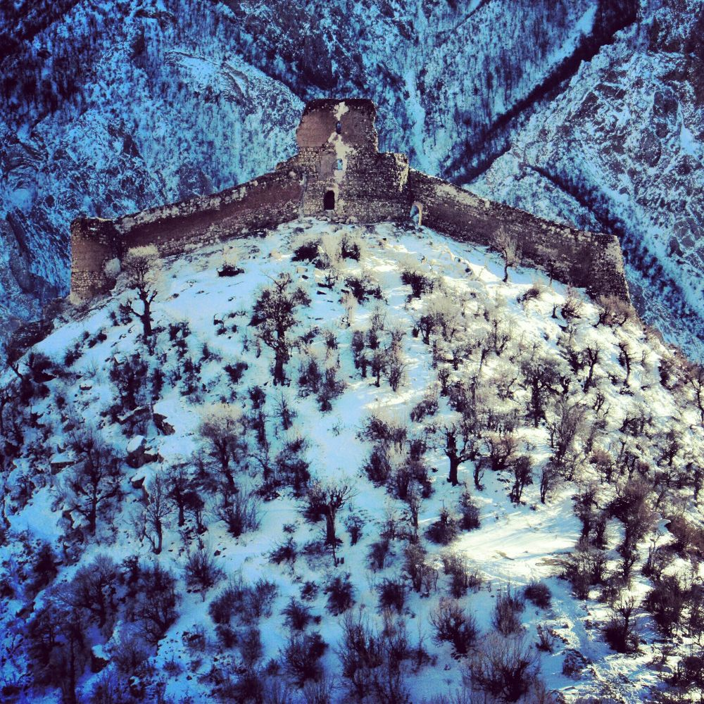 Photo in Random #castle #snow