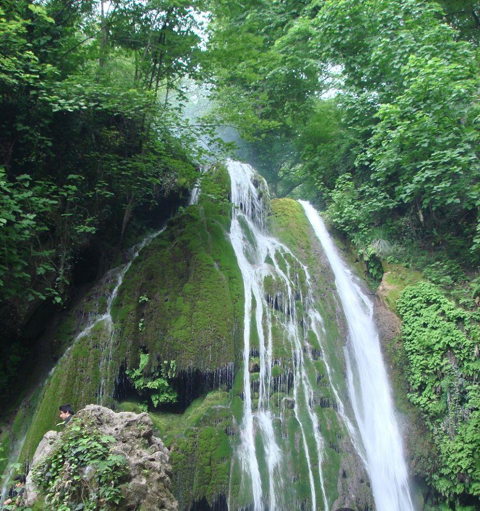 waterfall in Gorgan by Ehsan Sadeghi