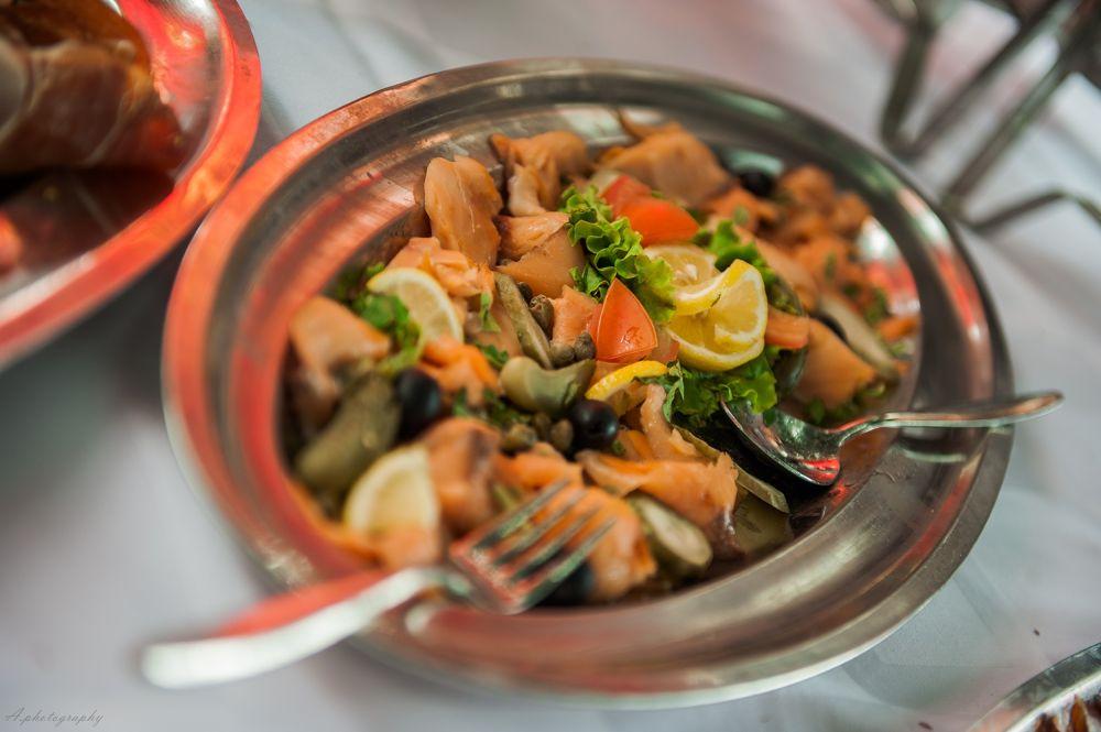 Photo in Food #seafood #food #delicious #lemon #croatia #nikon