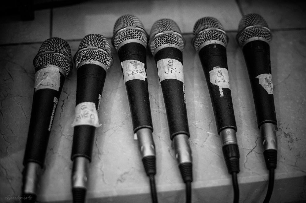 Photo in Black and White #klapa #cambi #nikon #croatia #microphones #song