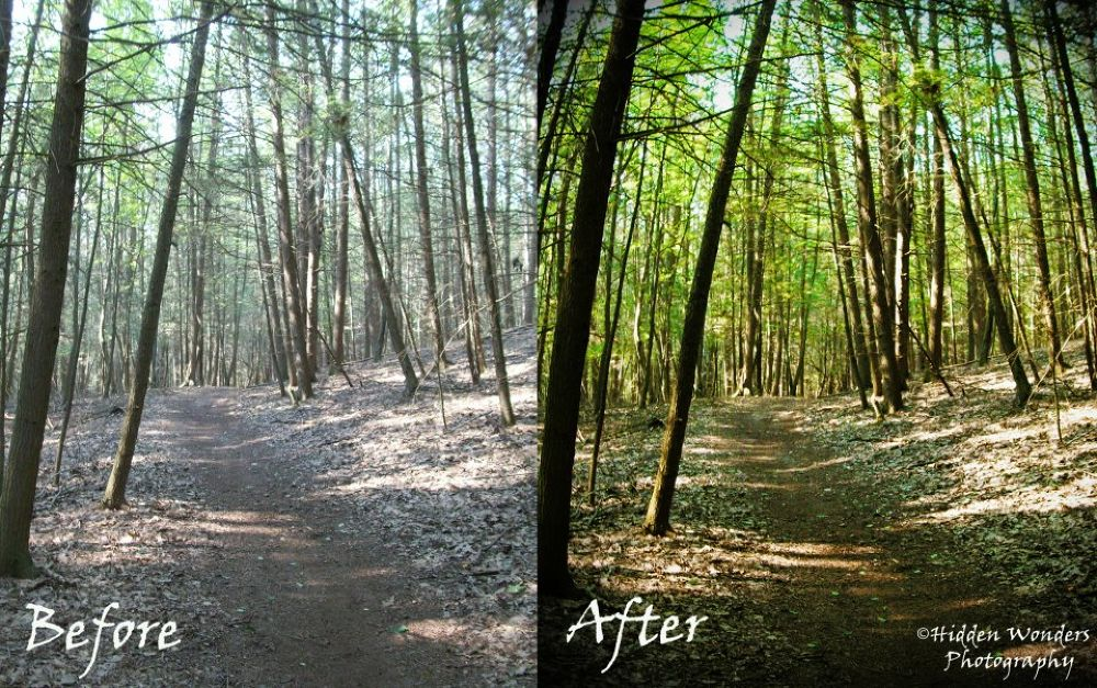 before and after by Hidden Wonders