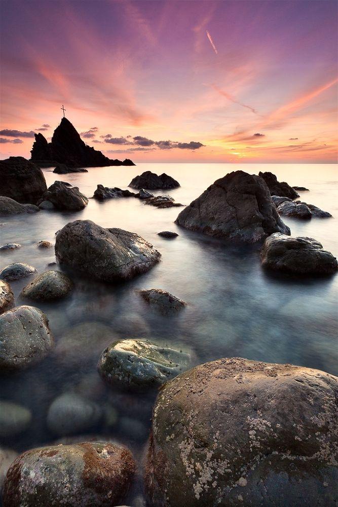 Photo in Landscape #liguria #sea scape