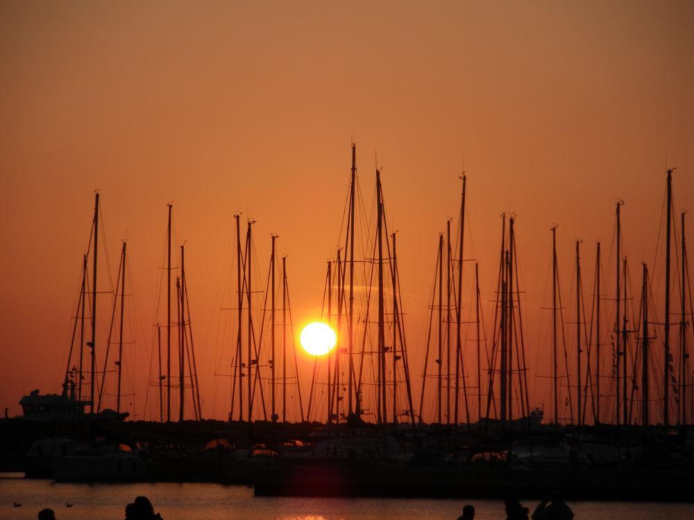 Tramonto porto di Ostia by rdmarco69