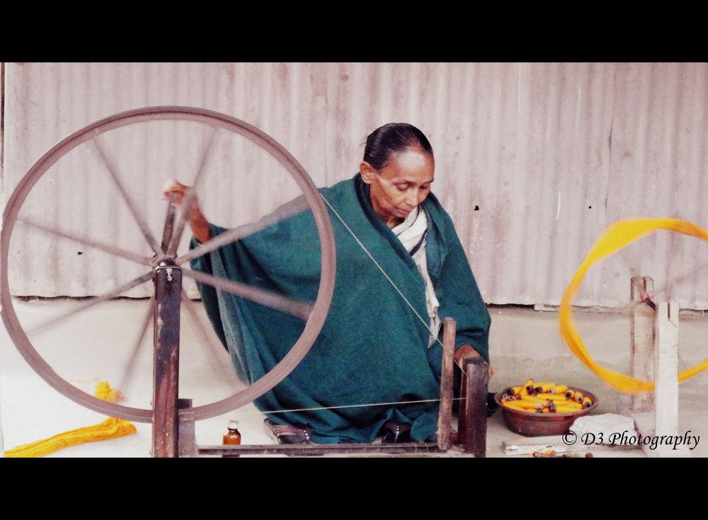 Spinning Wheel by DevDeep Dey