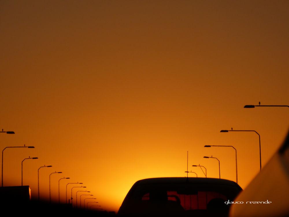 Eventide on the Bridge by Glauco Rezende