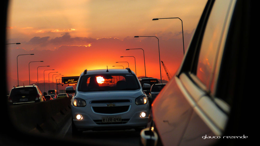 The Sun as a passenger by Glauco Rezende
