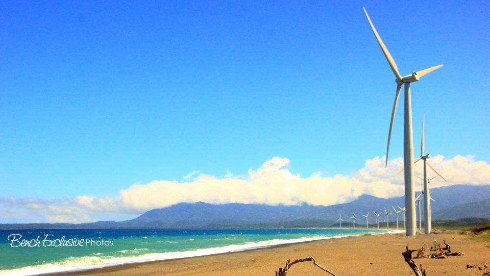Bangui Windmills by Bench Bryan