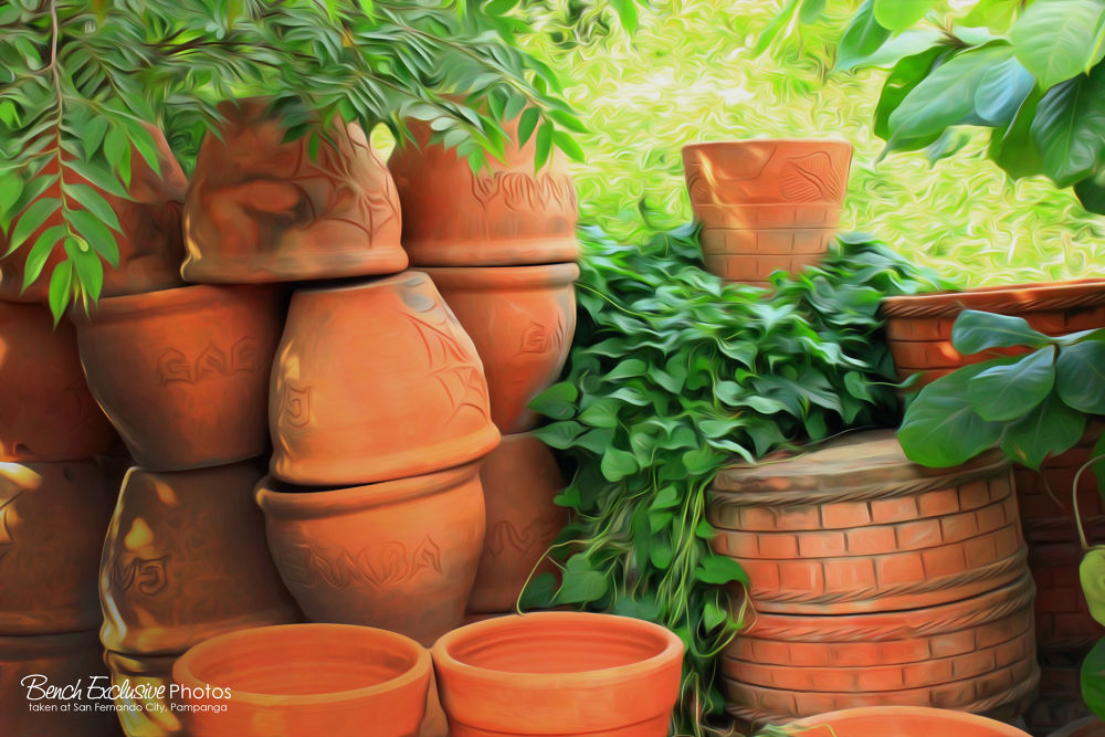 Pots For Sale by Bench Bryan