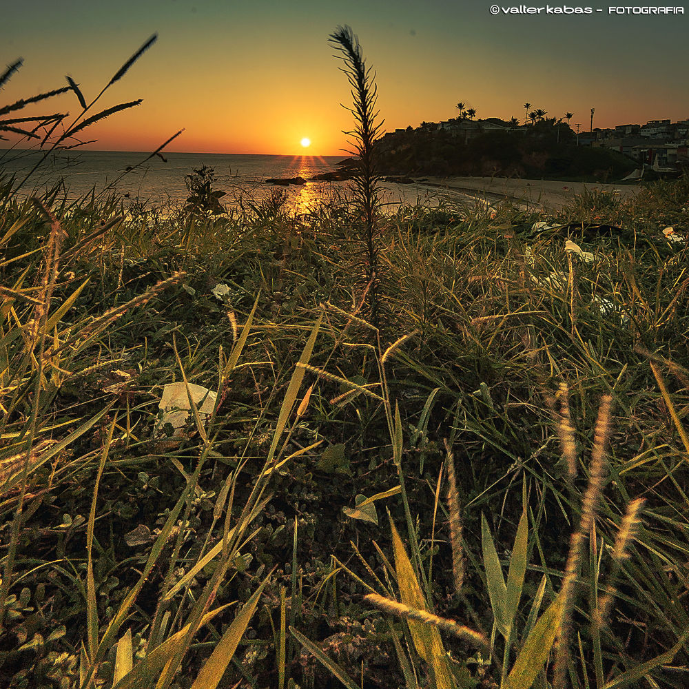 Photo in Landscape #sunset #riovermelho #salvador #bahia #brasil #pordosol #praiadapaciencia