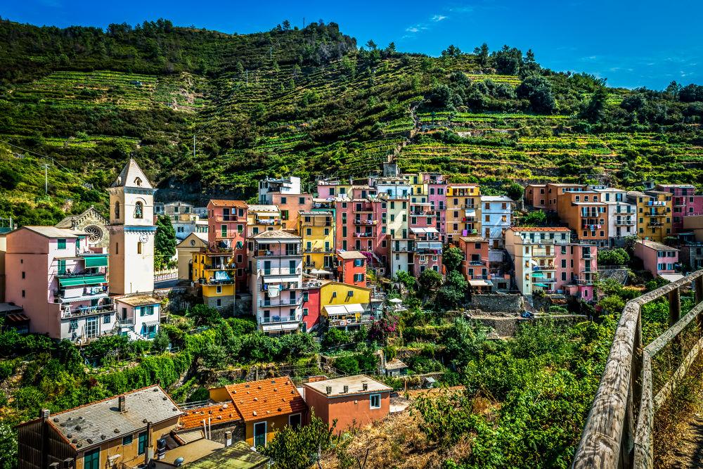 Cinque Terre by SwissMr
