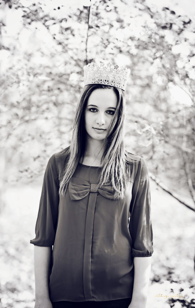 Photo in Black and White #vintage #princess #girls #black and white
