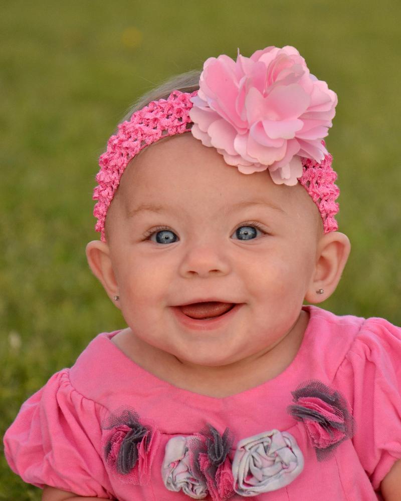 Happy baby by Bernice Thompson