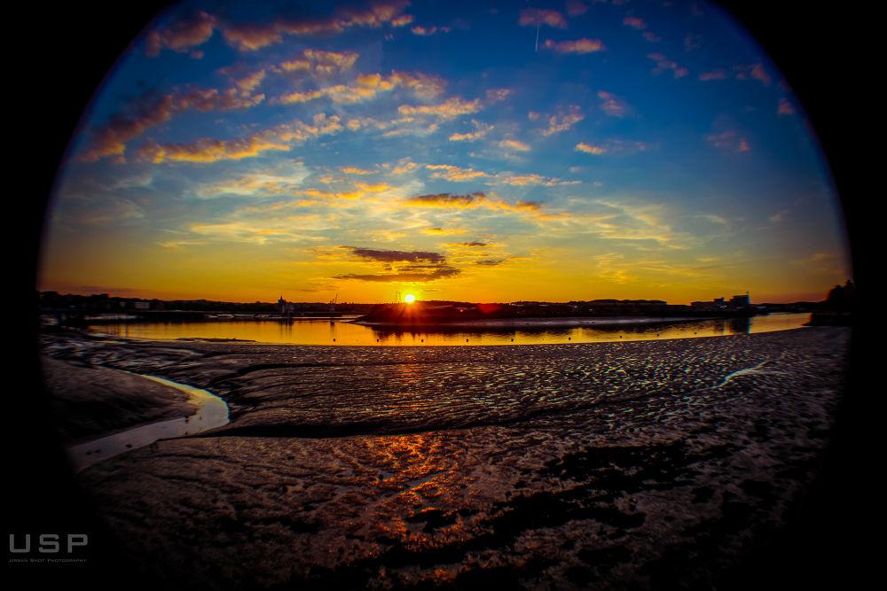 Photo in Nature #nature #sunset #sunsetting #lights #natural #usp #street #river #england #uk #london #kent #beautiful