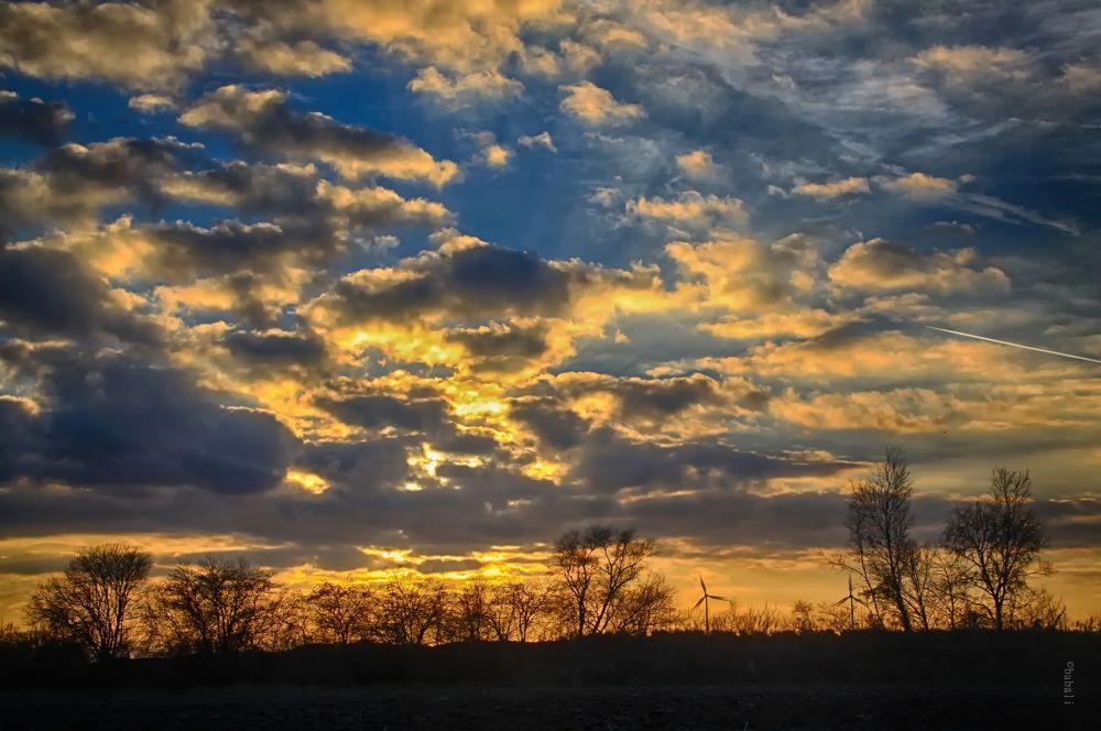 sunset by Elke Gamsjäger
