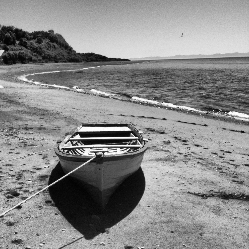 Photo in Black and White #chile #chiloe #queilen