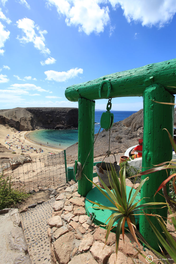 Playa del Papagayo by Andrea Pitteri
