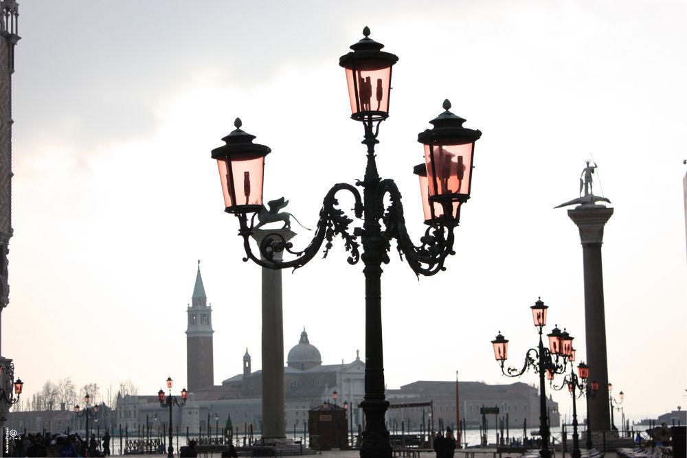 Particolare di San Giorgio Maggiore by Andrea Pitteri