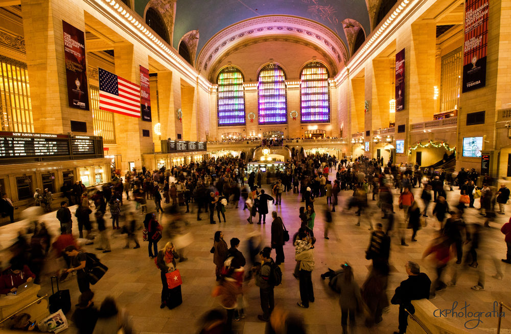Photo in Cityscape #grand central terminal #new york #photography #people #rush #crowds #canon #canon5d #canon5d mark ii