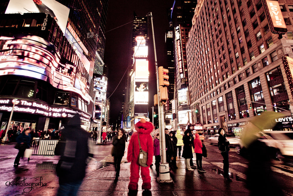 Photo in Street Photography #street photography #street #elmo #photography #times square #new york #canon 5d mark ii