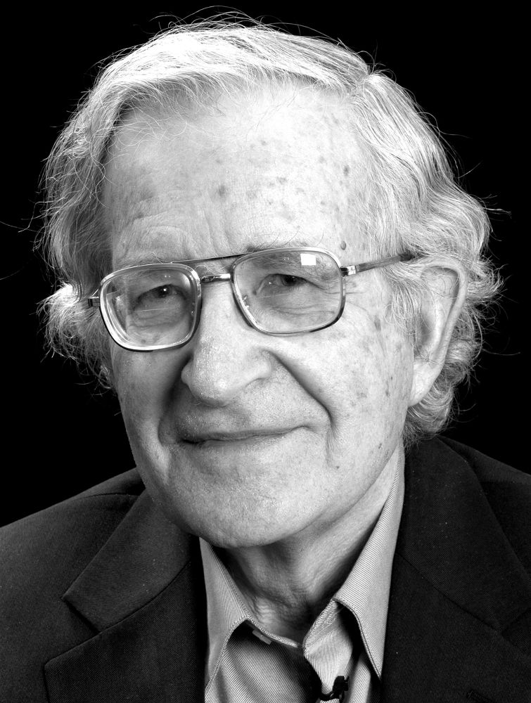 Noam Chomsky by photocritique