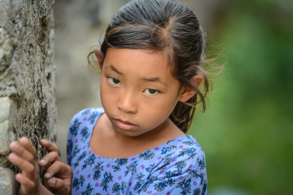 Photo in People #jaigaon #india #girl #child #eyes #asia #outreach
