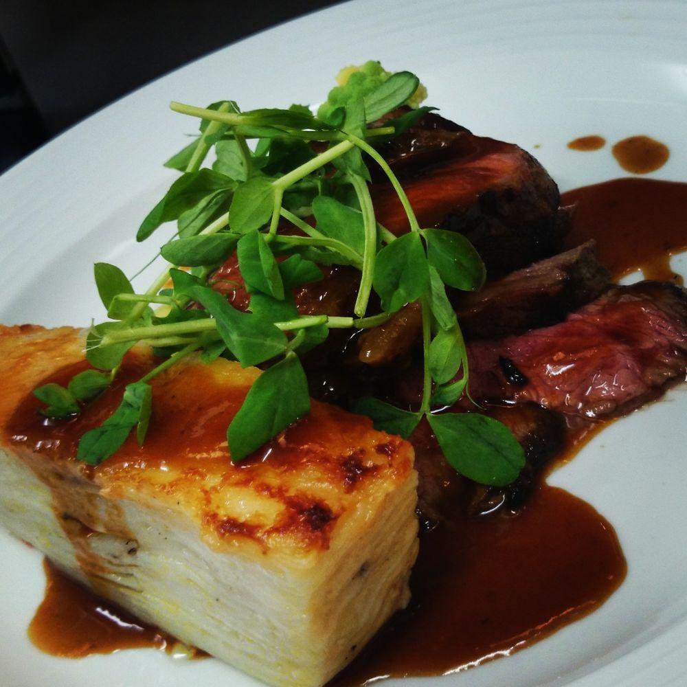 lamb and dauphinoise potatoes  by NJROCHE