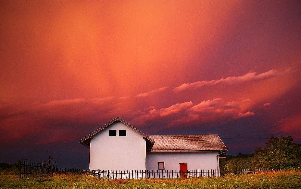 Photo in Landscape #dramatic #sky #karlovac #croatia #mistic