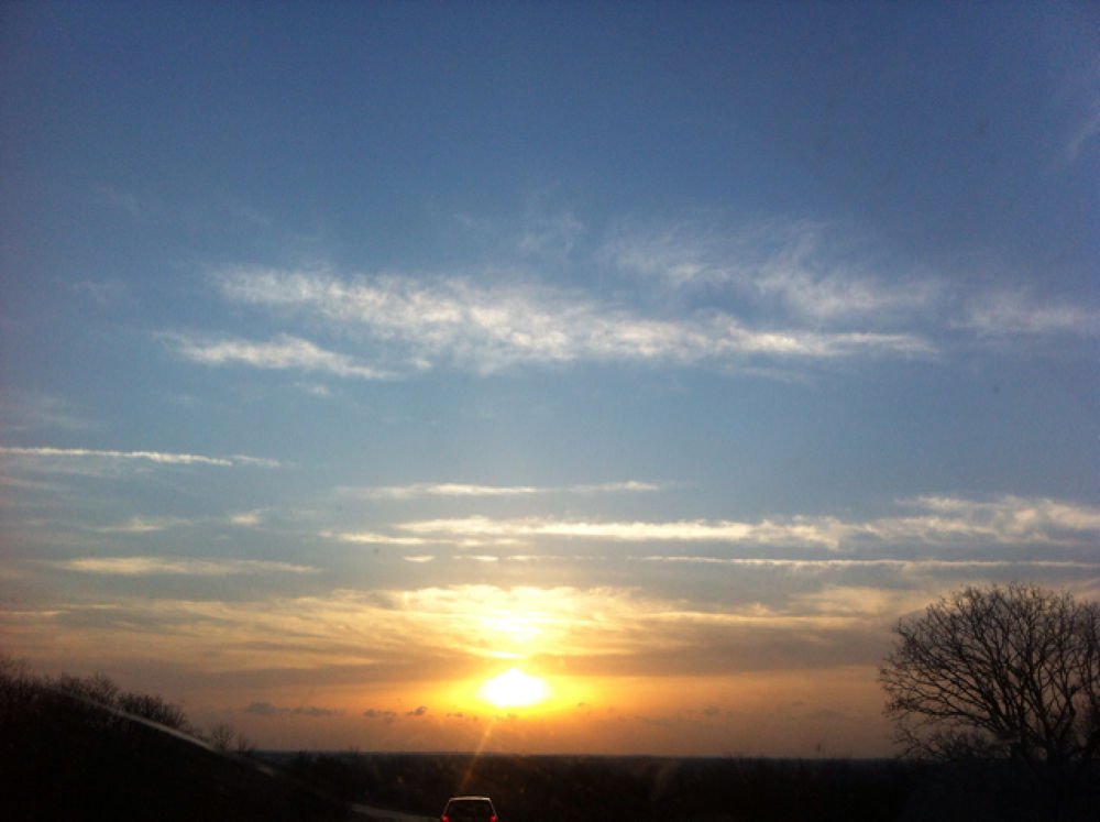 Oklahoma sunrise  by LaDonna Maxwell