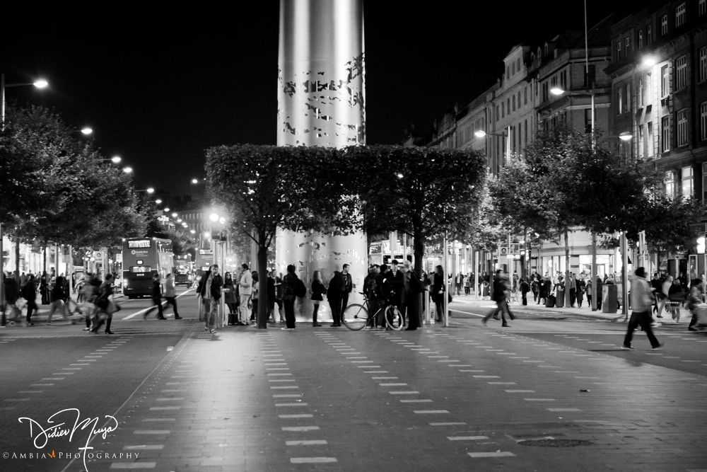 Dublin By Night by Didier Muya (Ambia Photography)