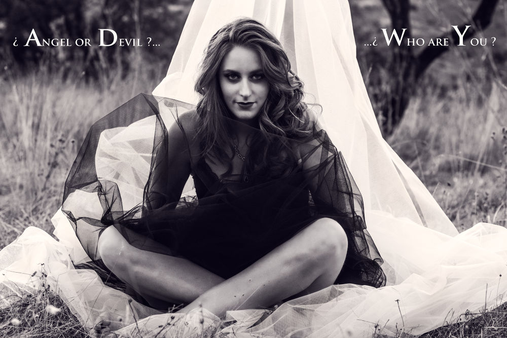 Photo in Fashion #modelo #mujer #blanco y negro #belleza #editoial #moda