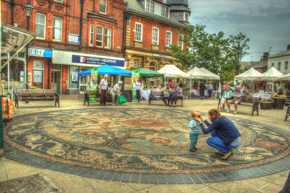 Lytham Square by Jim Huntsman