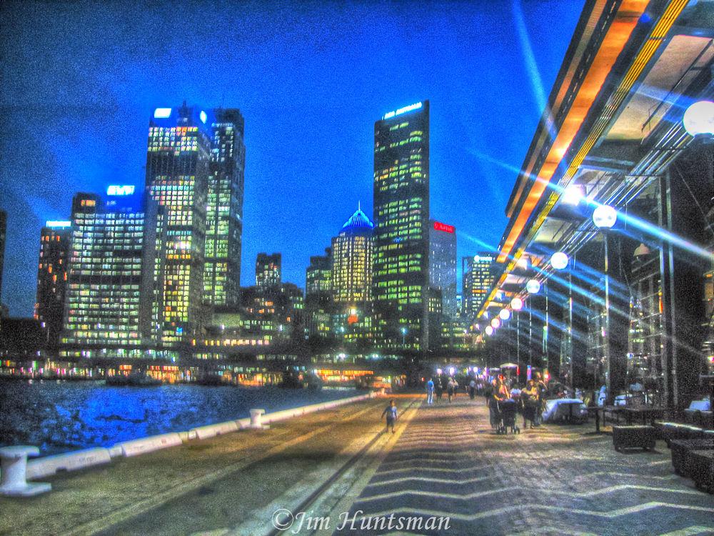 Sydney  harbour by Jim Huntsman