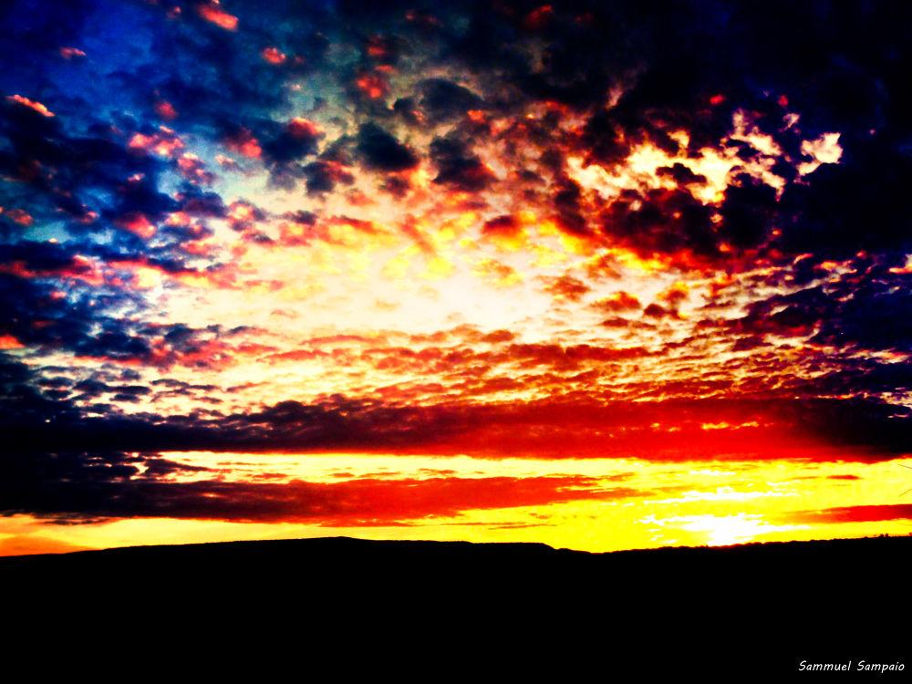 Pôr do Sol. by Sammuel Sampaio