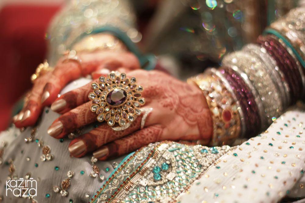 beauty in hands. by Kazim Raza