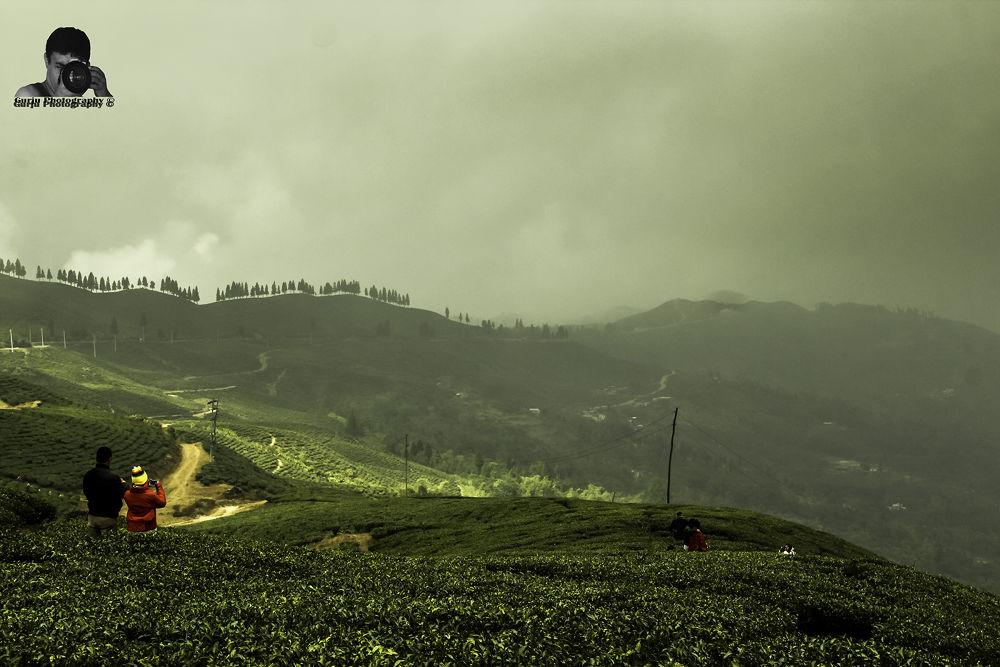 Hide & Seek of clouds and sunrays... by Mahesh Bajracharya