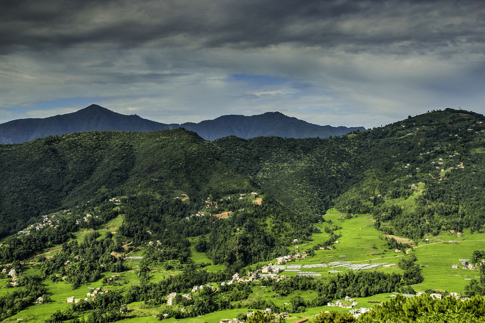 monsoon clouds by Mahesh Bajracharya