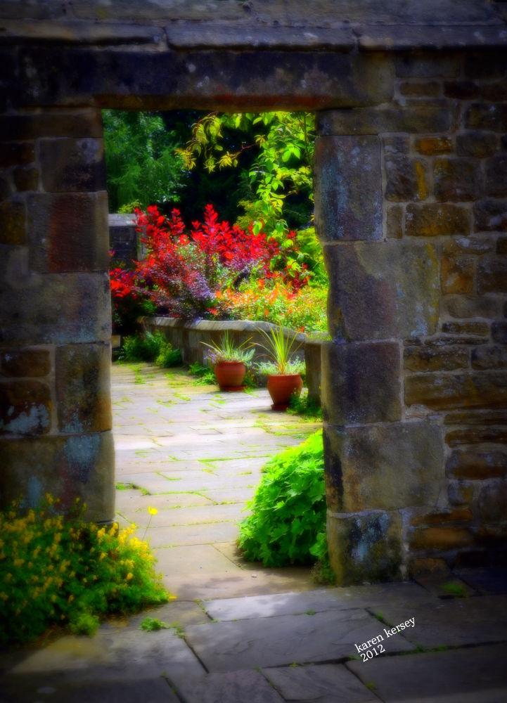 thru the door by Karen Presta Kersey