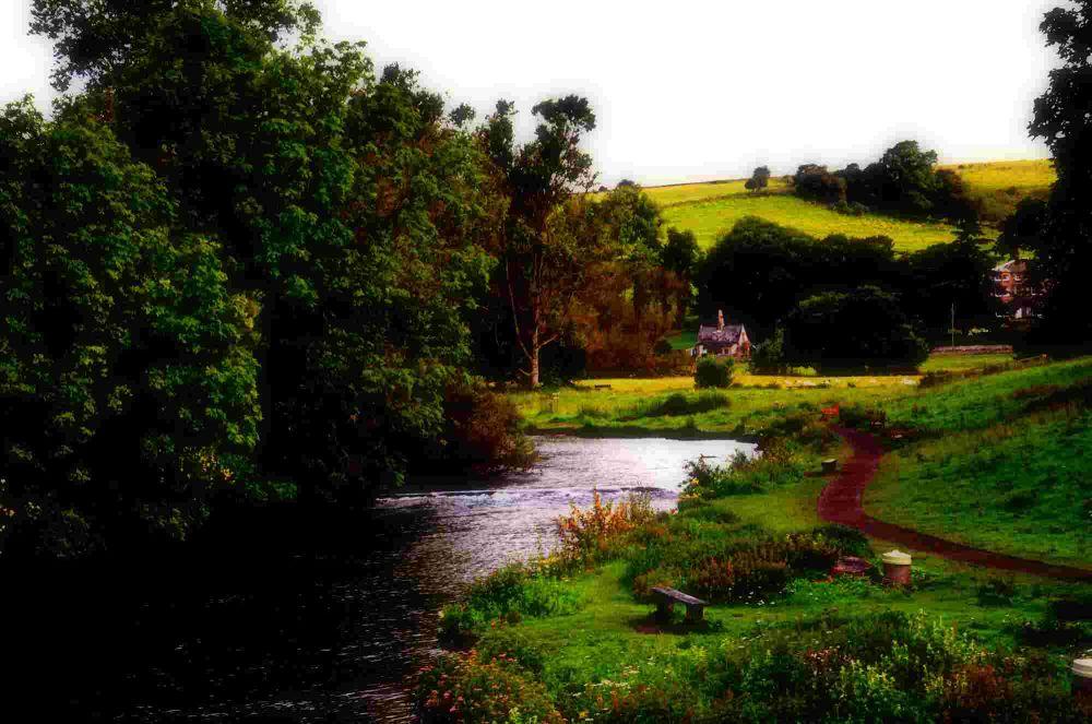 Walk by the river by Karen Presta Kersey