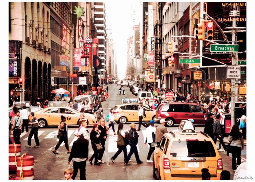 Photo in Street Photography #buzy #crazy #broadwy #new york