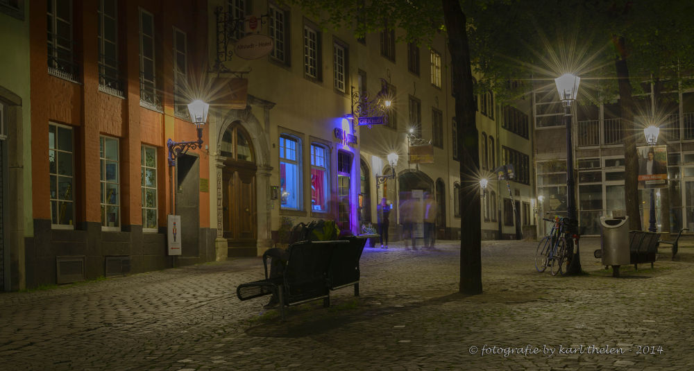historic city cologne by karl hotz-thelen