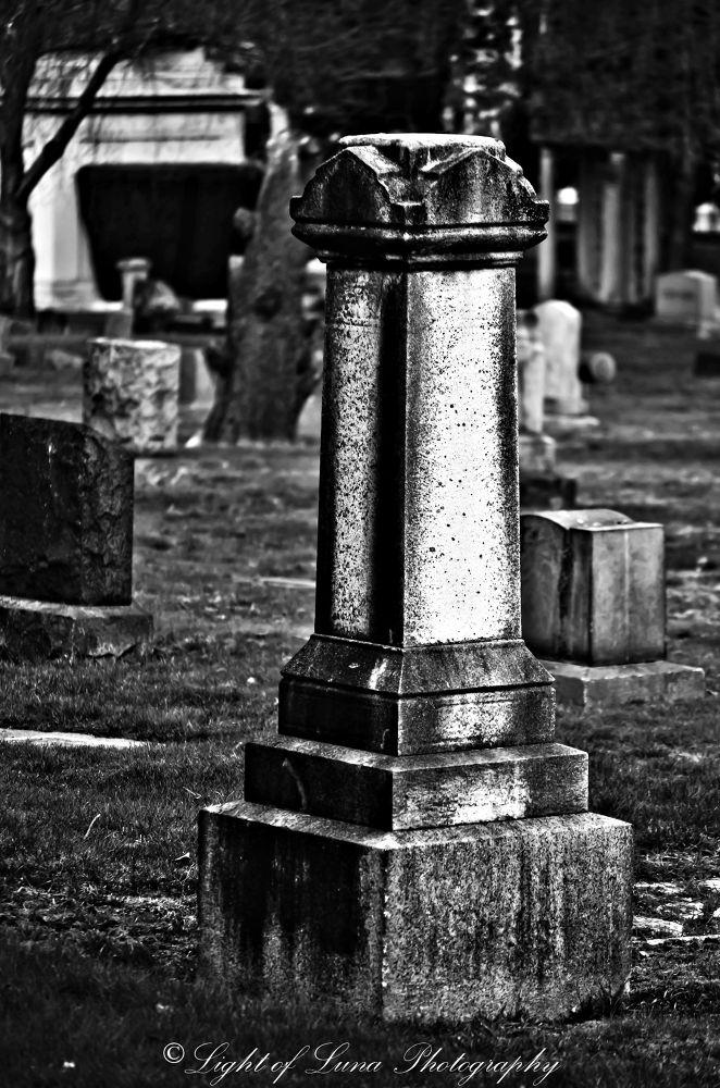 Lake View Cemetery by Melissa Calvert