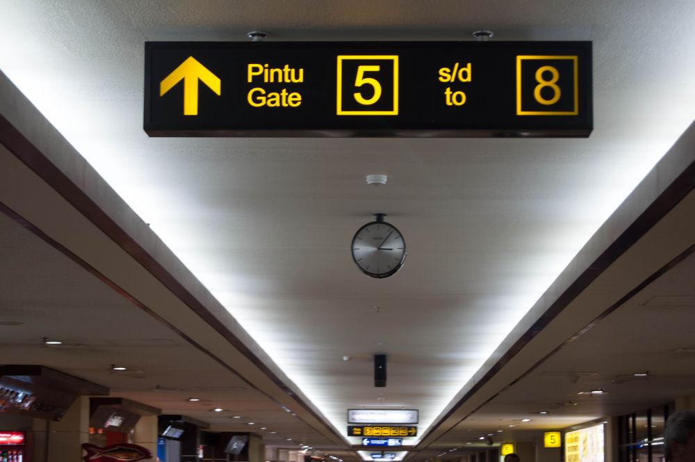 _Soekarno Hatta airport terminal ,indonesia by IwanZazuli