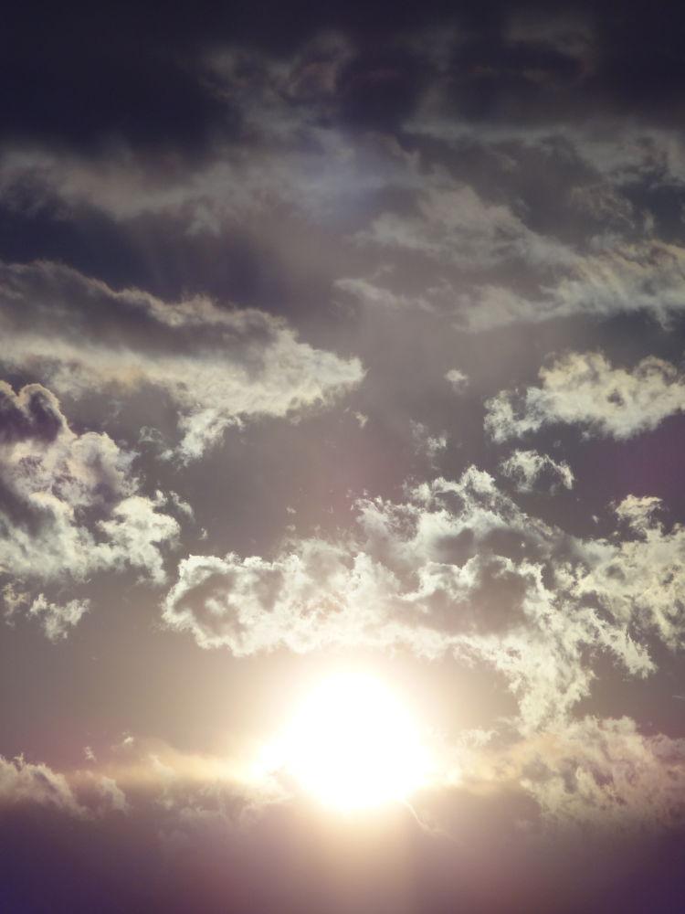 Photo in Nature #sun #cloud #sky #sunset