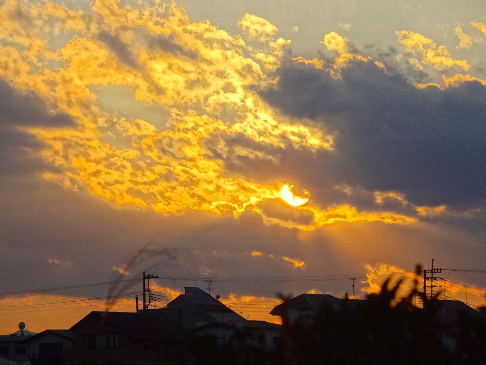 Photo in Nature #cloud #sun #sunset