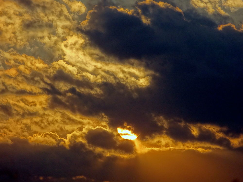 Photo in Nature #sun cloud #sunset