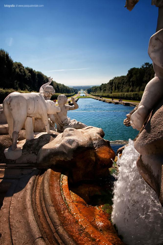 Photo in Architecture #reggia #caserta #giardini reali #reali #campania #italy #cascata