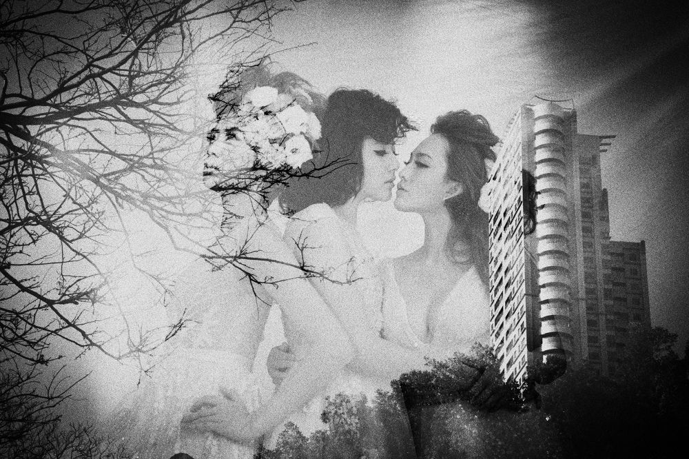 Trinity-b&w by Anton Huang